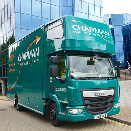 Chapman Removals Storage Cardiff Office Move